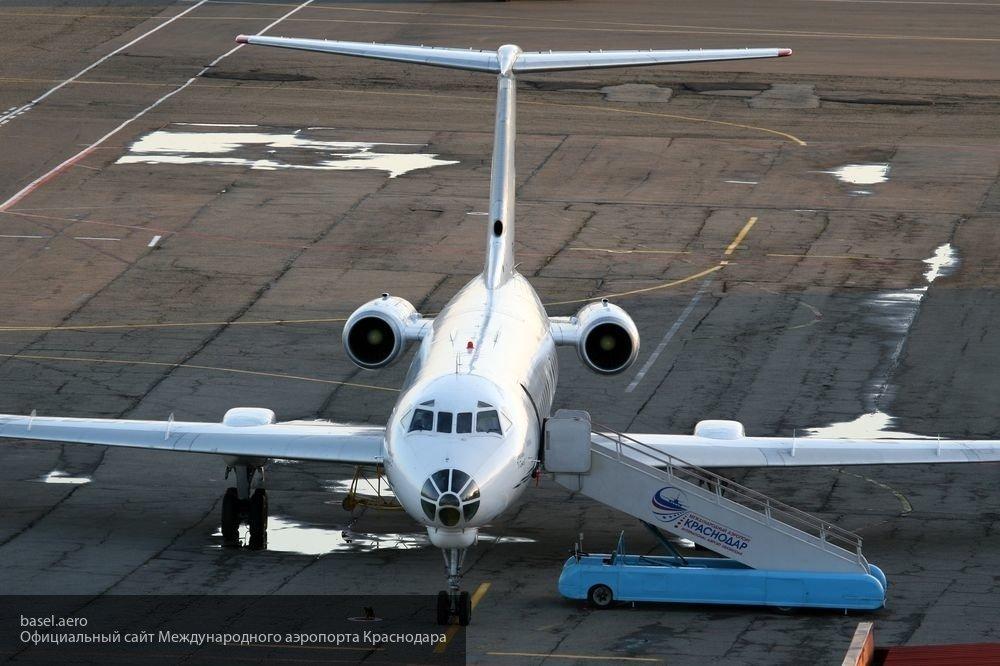 Названа причина экстренной посадки самолета Сочи-Москва в Краснодаре