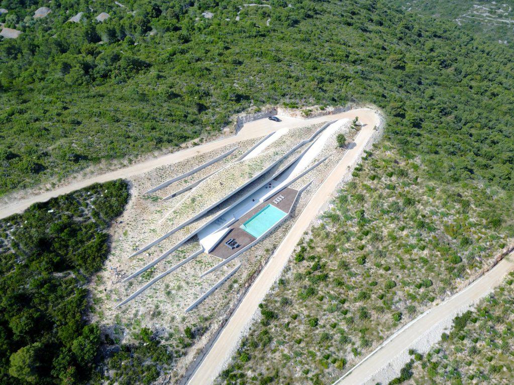 Автономный дом на острове Вис