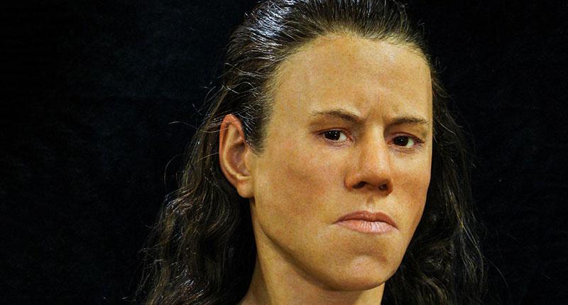 Ученые воссоздали лицо юной гречанки, которая жила 9 тысяч лет тому назад