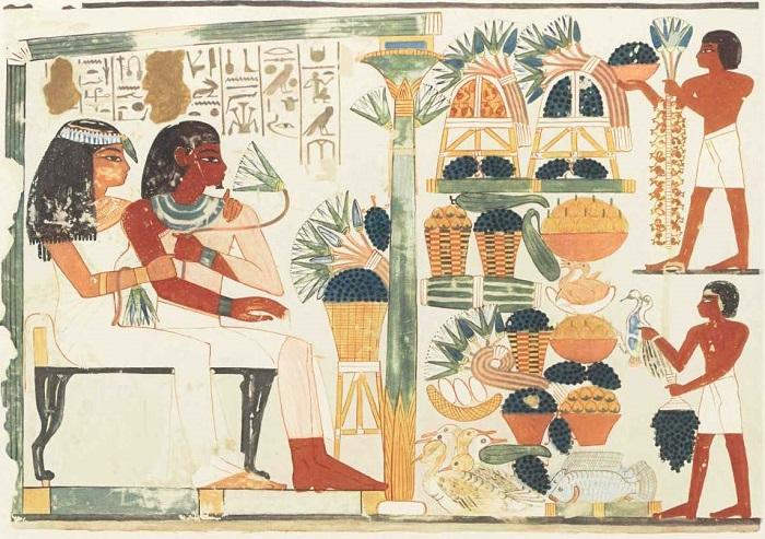 стихи в древнем египте важную роль