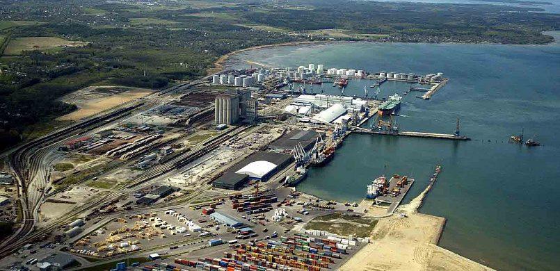 Усть-Луга входит в пятерку российских портов по грузообороту