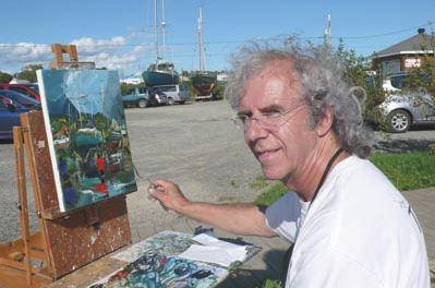 Канадский художник Albini Leblanc