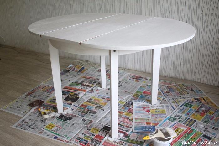 Мастер-класс по созданию стола в стиле шебби шик (6) (700x466, 275Kb)