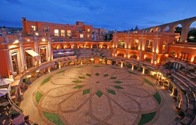 Уникальная достопримечательность Сакатекаса — отель-арена Quinta Real Zacatecas Латинская Америка,Мексика,отели