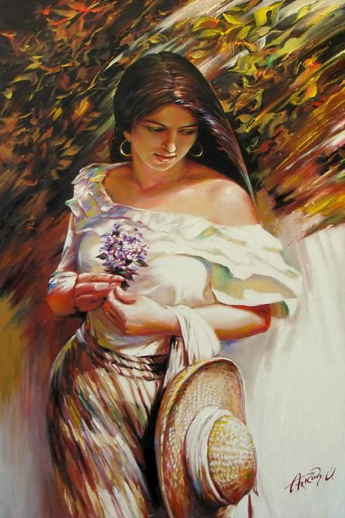 женский образ Аркадий Острицкий - 09