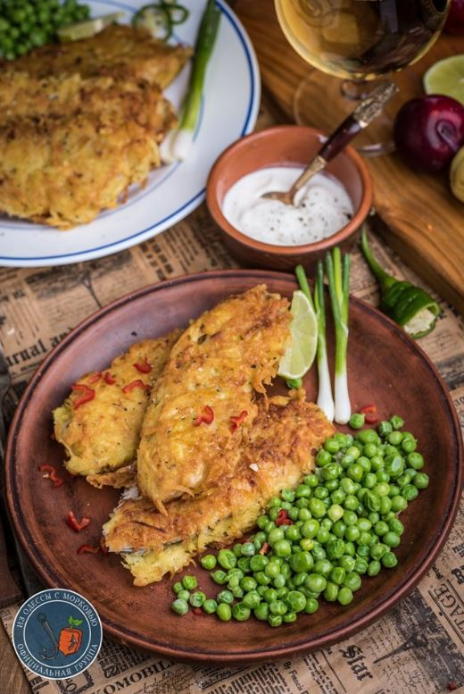 Рыба в картофельной корочке кулинария,рыбные блюда
