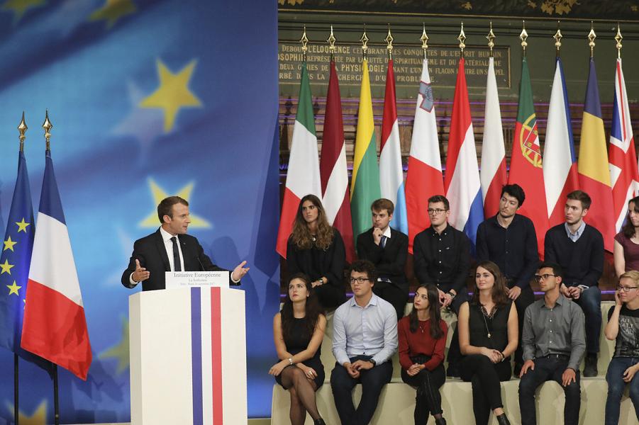 Единое государство Европейский Союз. План Макрона