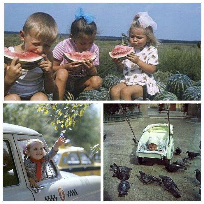 Кадры счастливого советского детства