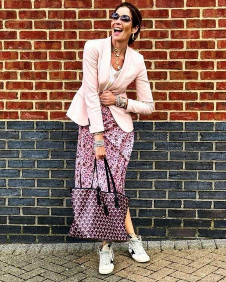 С чем носить жакет, чтобы выглядеть стильно - 5 идей от фешен-блогеров старше сорока лет