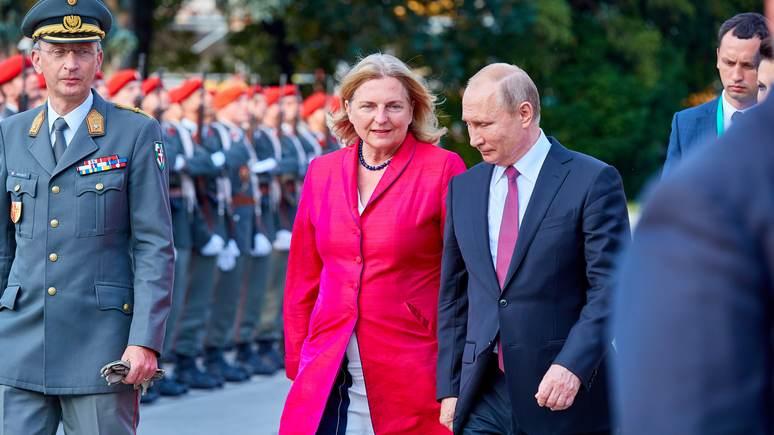 Кнайсль: Европе пора увидеть в России партнёра и начать сотрудничать с ней