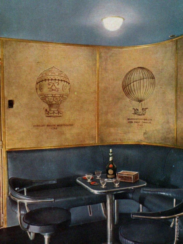 Курительная комната Гинденбург, история, фото