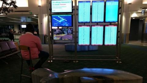 Американец решил сыграть в Apex Legends на мониторе аэропорта apex legends,ps,аэропорты,игроки,Игры,курьезы