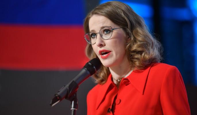 В Кремле дали ответ разбушевавшейся Собчак