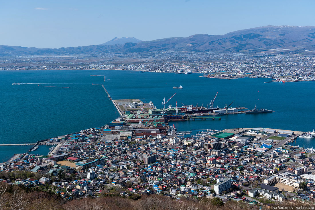 Хакодате: главный русский город Японии города,поездка,путешествие