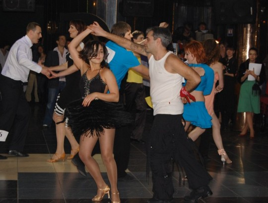 Латиноамериканские клубные танцы. Сальса