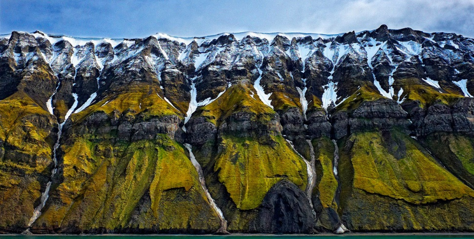 Утесы архипелага Шпицберген