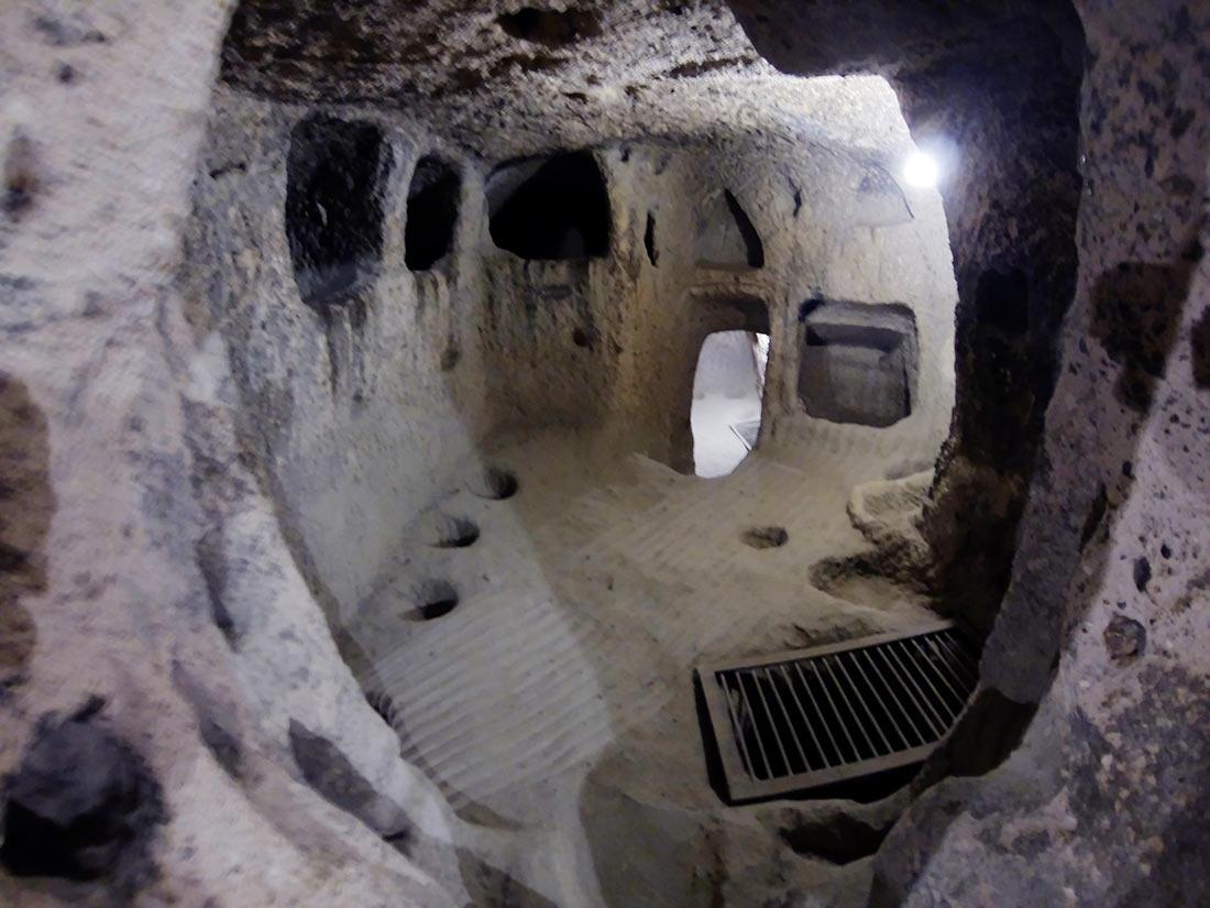 Подземный город Каймаклы: рукотворное чудо Турции авиатур