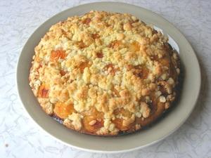 Абрикосовый пирог со штрейзе…