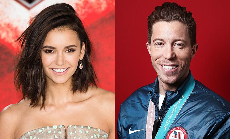 Нина Добрев перестала скрывать роман с олимпийским чемпионом Шоном Уайтом Звезды,Звездные пары