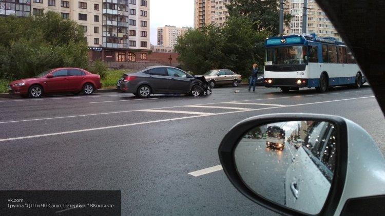 Калининградка, напавшая на автомобиль, попала на видео