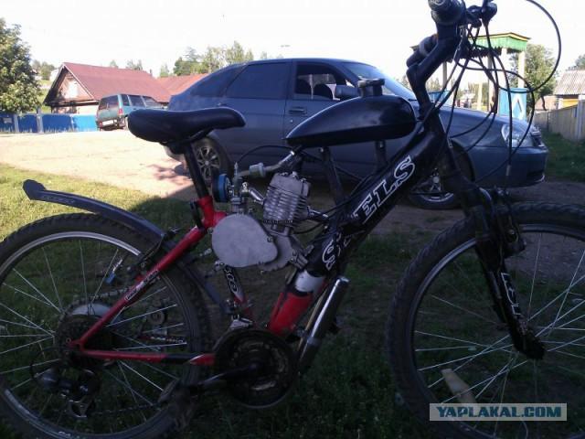 Велосипед моторизированный