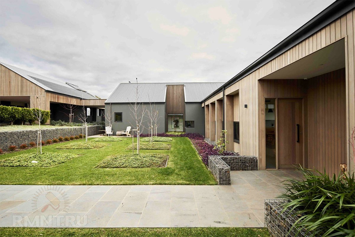 Ранчо — особый стиль загородного дома архитектура,дома и коттеджи,ремонт и строительство
