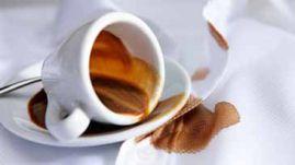 Как вывести пятна от кофе, какао и чая с одежды в домашних условиях
