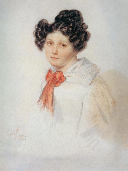 Полина Гебль - француженка, последовавшая в ссылку за своим гражданским мужем-декабристом Иваном Анненковым