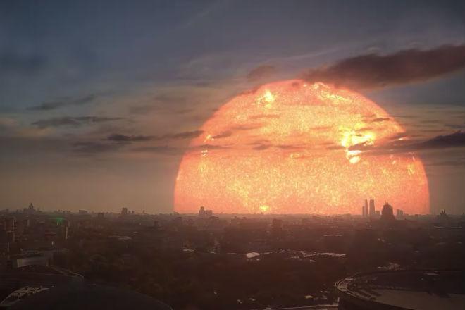 Как бы выглядело небо, если бы вместо Солнца на нем светили другие известные звезды