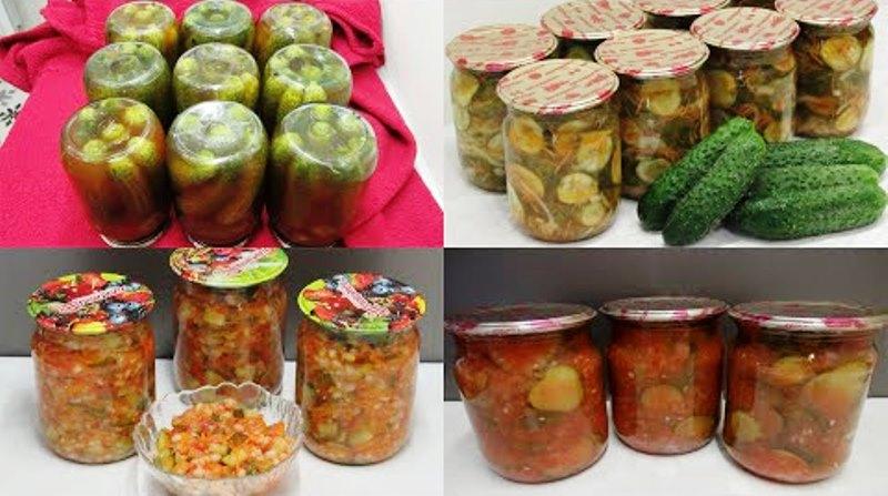 Рецепты консервации огурцов на зиму: сразу 4 любимых рецепта заготовки,консервируем
