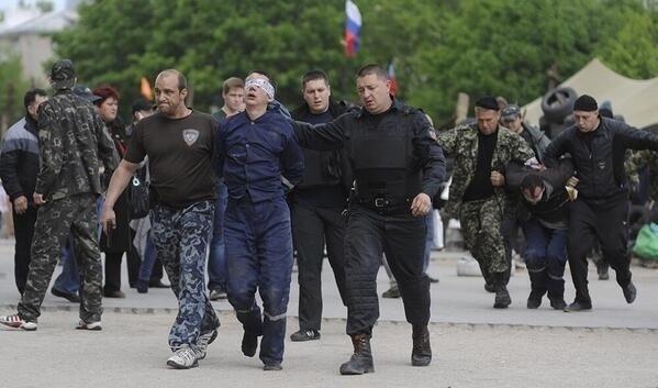 Пленных карателей проведут по Донецку в День независимости Украины