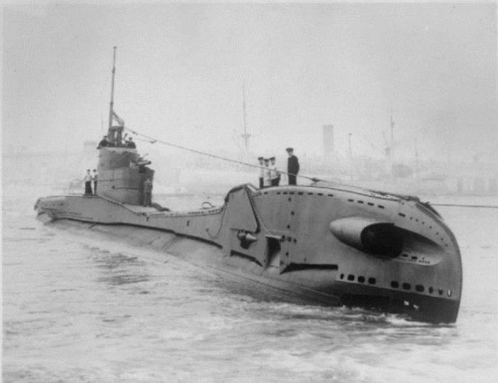 HMS Thorn - подводная лодка Т-класса, идентичная Thetis. Фото: thevintagenews.com.