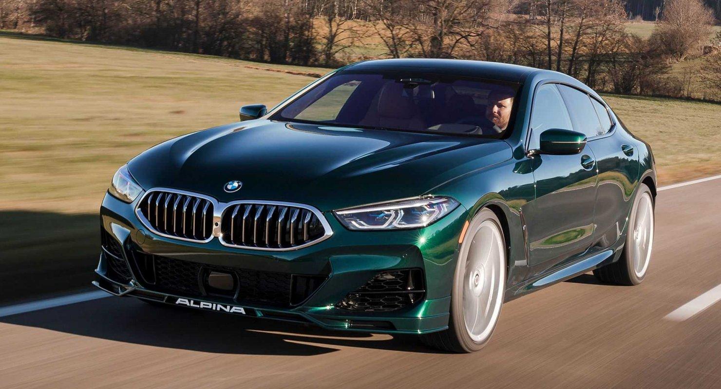 BMW Alpina B8 Gran Coupe 2022 года станет основным конкурентом M8 Автомобили