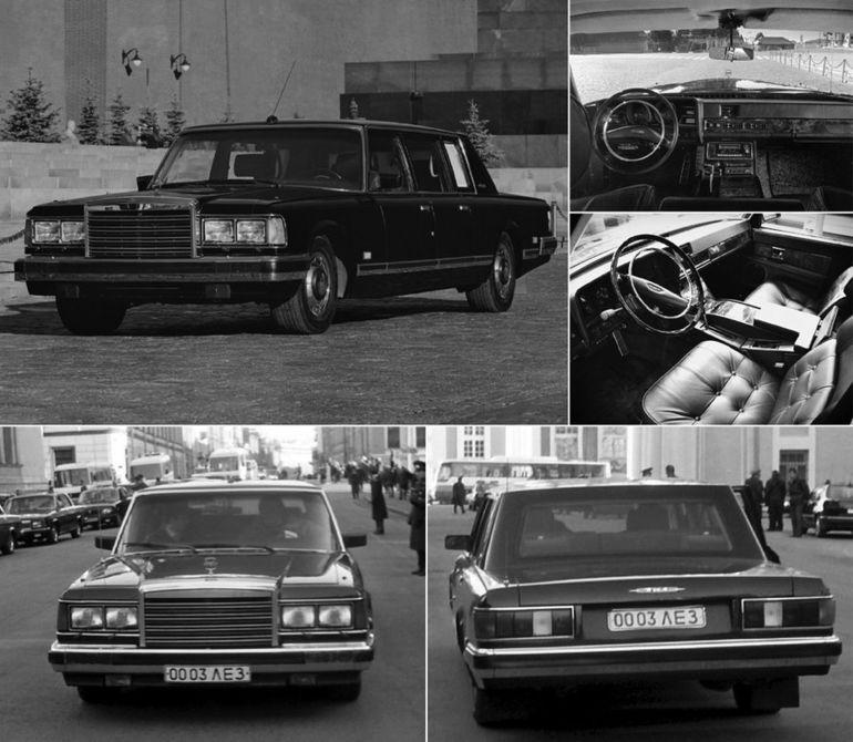Все автомобили советских вождей: от Ленина до Горбачёва