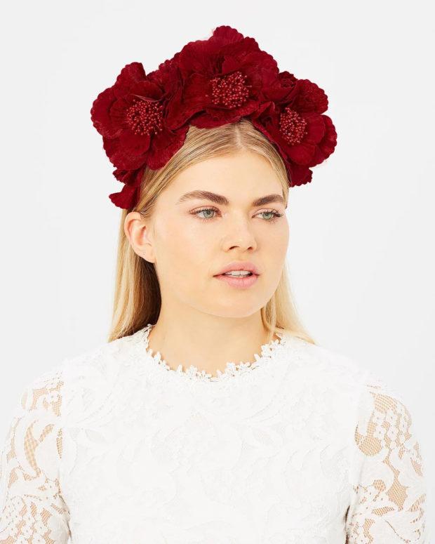Модные головные уборы весна лето 2019: цветы