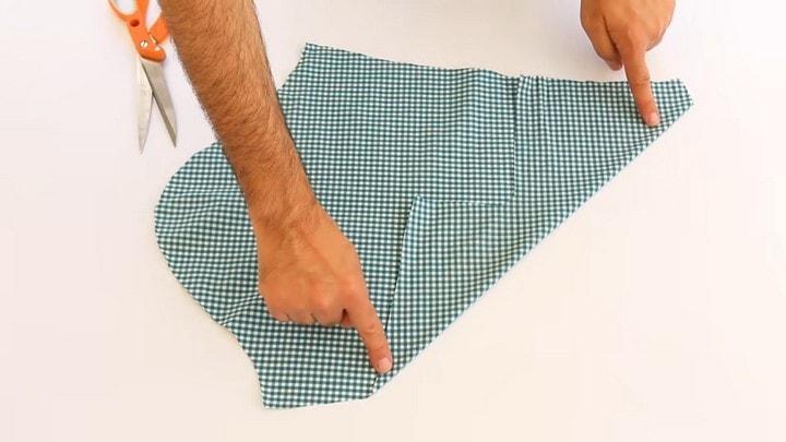 Превращаем мужскую рубашку в полезную в хозяйстве вещь одежда,переделки,рукоделие,своими руками,сделай сам