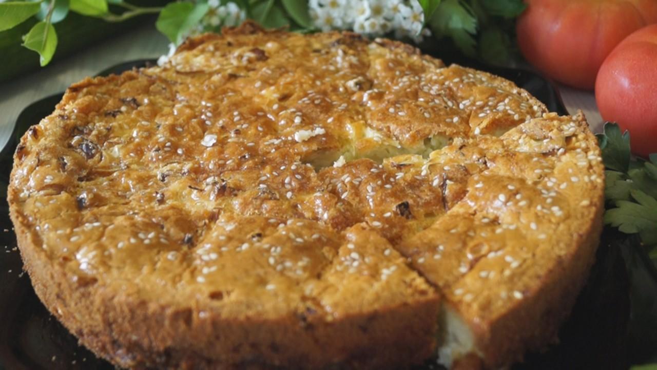 Заливной Пирог с капустой, проще не бывает. Очень и Очень Вкусный!