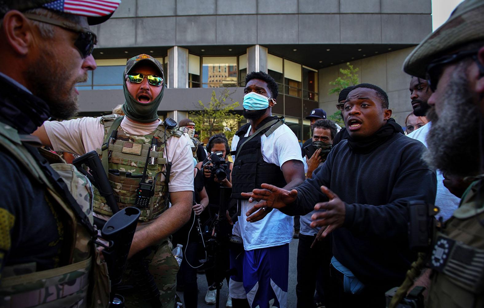 Гражданская война в США: Названа дата геополитика