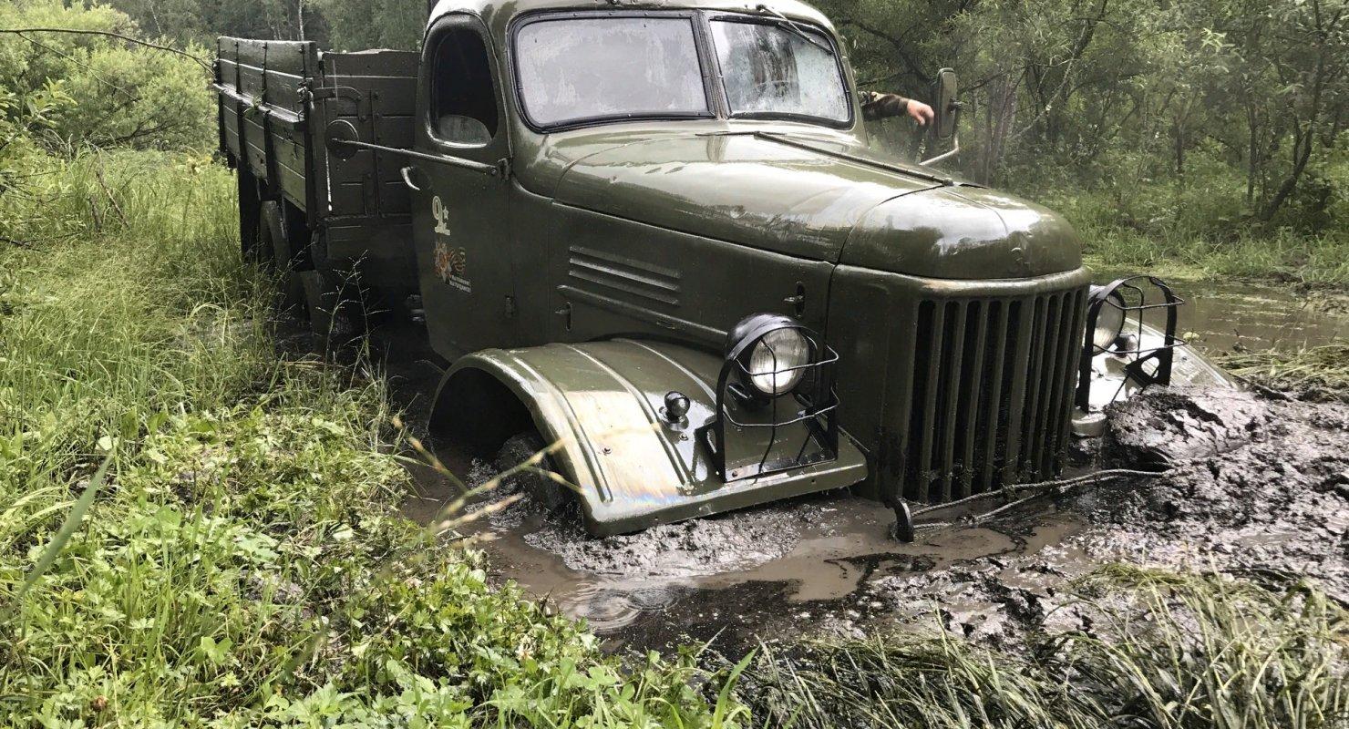 3 уникальные особенности грузового ЗИЛ-157 Автомобили