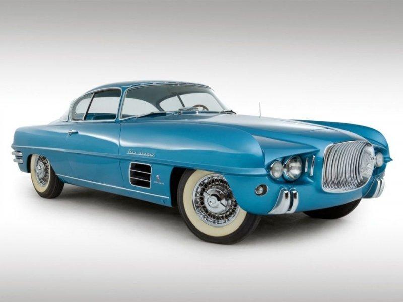 Dodge Firearrow III Sport Coupe Concept Car 1954 года Dual-Ghia, ghia, авто, автодизвйн, автомобили, кабриолет, олдтаймер, ретро авто
