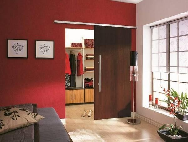 двери в гардеробную раздвижные, фото 10