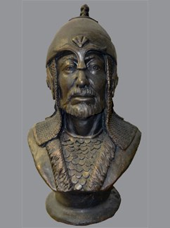 Реконструкция облика национального героя Казахстана Бердикожа-батыра.