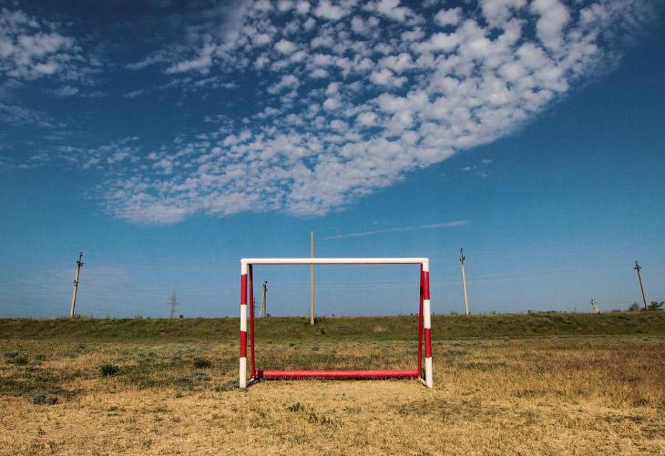 Секретные футбольные ворота в России