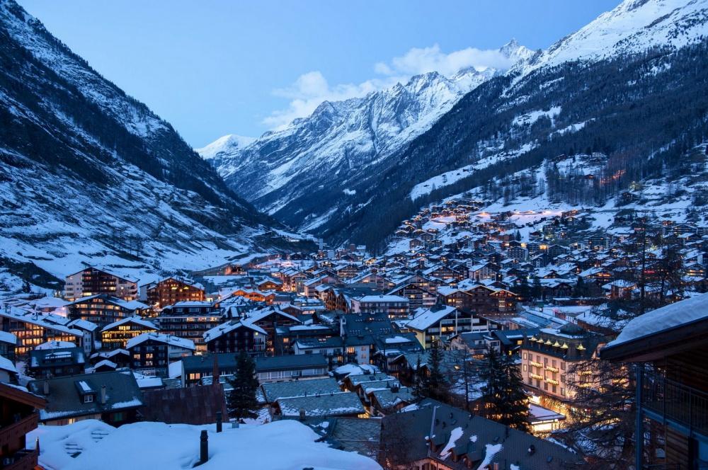 Швейцария самый красивый город фото