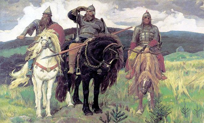Какого роста были русские богатыри Илья Муромец, Добрыня Никитич и Алеша Попович Культура