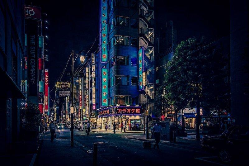 Неоновая фантазия красота, мечта, путешествие, страна, фотография, фотомир, япония