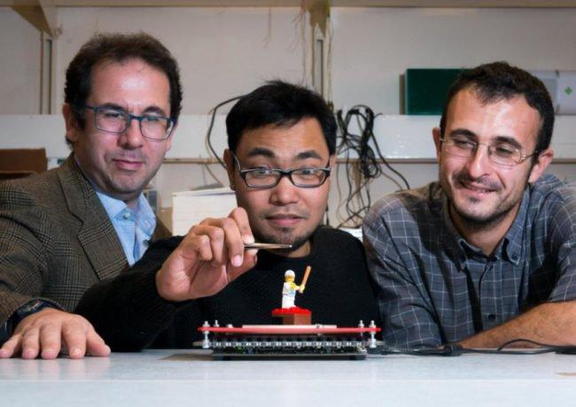 SoundBender: новая технология ультразвуковой левитации наука, soundbender