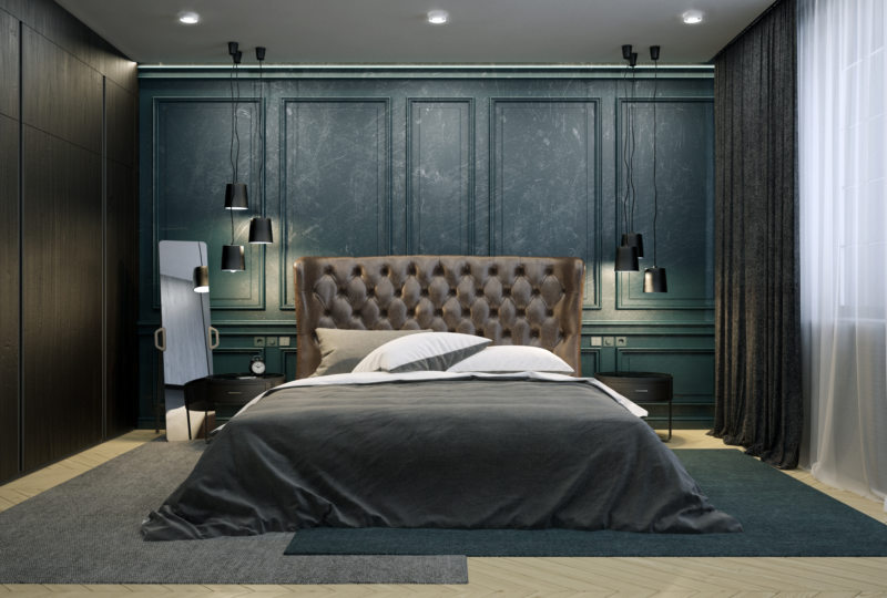 Мужская спальня — как ее оформить? 89 фото-идей стильного дизайна для мужчины!