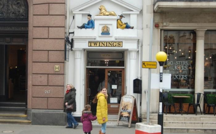 Чайный магазин Twinings. / Фото: www.konservs.com