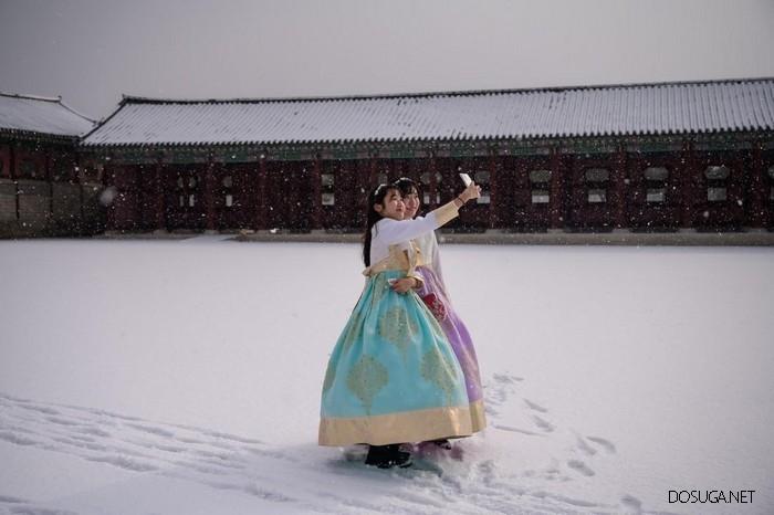Свежие фотографии, сделанные в Южной Корее